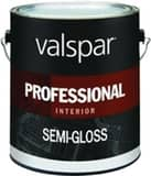 Valspar 1 gal Hi-Hide Professional Interior Latex Semi-Gloss in White V11900