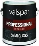 Valspar 1 gal Hi-Hide Professional Interior Latex Semi-Gloss in White V11900
