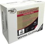MG Distribution 5 lb Box of Newcycled Knit Clean up Rags M7408SS05MP