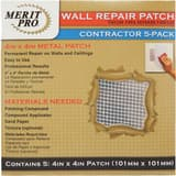 MG Distribution 4 x 4 in. Wall Repair Patch Contractor Pack M03215