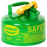 Eagle Type I 1 gal Safety Can in Green EUI10SG at Pollardwater