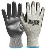 Component Manufacturing L Size Plastic Resistant Fiber Glove CDCTR120L
