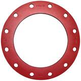 FNW® 8 in. IPS Ductile Iron Painted Back-Up Angled Face Ring Flange FNW73PX