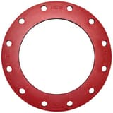 FNW® 4 in. IPS Ductile Iron Painted Stub End Full Body Flange FNW72PP