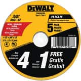 DEWALT 4-1/2 x 7/8 in. Thin Metal Cutting Wheel DDW8062B5