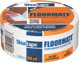 Shurtape PE 100 Floormate Temporary Flooring Tape in White S240619