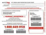 Veolia ES RecyclePak® 4 ft. Linear Lamp Prepaid Stamp VSUPPLY277