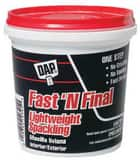 DAP Fast 'N Final® 8 oz. Lightweight Spackling in White D12140