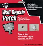 DAP 6 x 6 in. Wall Repair Patch in Metallic-White D09146