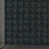 M+A Matting Waterhog™ Classic Waffle Design Mat in Charcoal A200540046