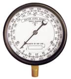 Thuemling Industrial Products 4-1/2 in. 390 ft. Well Depth Pressure Gauge TCA566 at Pollardwater