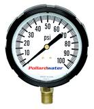 Thuemling Industrial Products Bourdon 100 psi Pressure Gauge T4106425 at Pollardwater