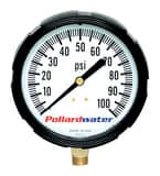 Thuemling Industrial Products 3-1/2 in. 60 psi KEMX Liquid Filled Pressure Gauge MNPT T6104073 at Pollardwater