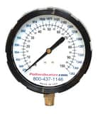 Thuemling Industrial Products 3-1/2 in. 1382 gpm Glycerine Pressure Gauge T6106991 at Pollardwater