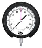 Thuemling Industrial Products 2-1/2 in. 300 psi  Pressure Gauge MNPT T41315111 at Pollardwater
