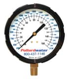 Thuemling Industrial Products 3-1/2 in. 160 psi KEMX Liquid Filled Pressure Gauge MNPT T6107134 at Pollardwater