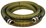 Abbott Rubber Co Inc 1-1/2 in. x 20 ft. Male NPSH x Female NPSH Crush Proof Suction Hose in Black and Yellow A1230150020 at Pollardwater