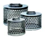 Abbott Rubber Co Inc 6 in. Steel Suction Strainer with Round Hole ASRHS600 at Pollardwater