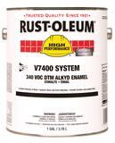Rust-Oleum® V7400 System 1 gal Hydrant Enamel Paint in Safety Orange R245477 at Pollardwater