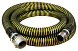 Abbott Rubber Co Inc 1-1/2 in. x 20 ft. NPSM Male x Female Quick Connect Vinyl Suction Hose in in Yellow and Black A1230150020CN at Pollardwater