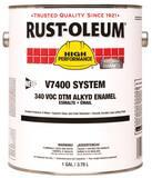 Rust-Oleum® V7400 System 1 Gallon Hydrant Enamel Paint in Aluminum R245309 at Pollardwater
