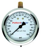 WIKA 200 psi Stainless Steel Pressure Gauge Case W4210956 at Pollardwater