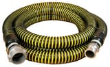 Abbott Rubber Co Inc 1-1/2 in. x 20 ft. Crushproof Suction Hose MxF Quick Connects A1230150020CE at Pollardwater