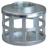 4 in. Square Hole Steel Strainer ASSHS400 at Pollardwater