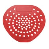 Hospital Specialty Company Health Gards® Vinyl Urinal Screen in Red (Case of 12) H03901