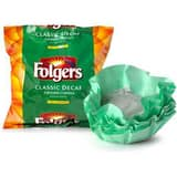 Folgers Coffee 0.9 oz. Classic Roast Decaf Filterpack (80 Pack) F36472006136