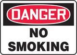 Accuform 14 x 10 in. Danger No Smoking Sign AMSMK133VP at Pollardwater