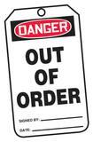 Safety TAG DNGR Outlet Of ORDER 25 Pack AMDT231PTP at Pollardwater