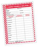 ENE SOURCE & Isolation FORMS 25 Pack AKSS151 at Pollardwater