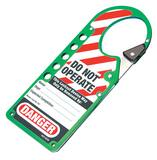 LABELED SNAP On HASP Green M427GRN