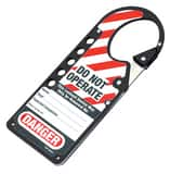 LABELED SNAP On HASP Black M427BLK
