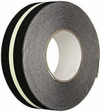 Harris Industries Glow-Tred 60 ft. Anti-Slip Glow Striped Tape HGTS at Pollardwater