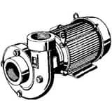 AMT 2 in. 10 hp 3ph 230-460V Centrifugal Pump A425095 at Pollardwater