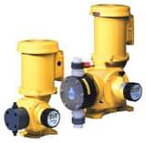 LMI LMI SG Series 300 gph 50 psi 60Hz PVC, PVDF and Viton 1-Phase Chemical Metering Pump LSG7388P at Pollardwater