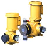 LMI LMI SG Series 147 gph 100 psi 60Hz PVC, PVDF and Viton 1-Phase Chemical Metering Pump LSG6388P at Pollardwater