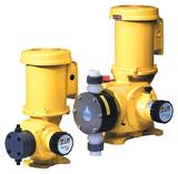 LMI LMI SG Series 147 gph 100 psi 60Hz PVC, PVDF and Viton 1-Phase Chemical Metering Pump LSG6388P at Pollardwater