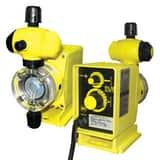 LMI LMI PO Series 5 gpd 150 psi 120V PVDF and PTFE Chemical Metering Pump LP021459SI at Pollardwater