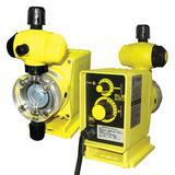 LMI LMI PO Series 10 gpd 110 psi 120V PTFE Chemical Metering Pump LP031499SI at Pollardwater