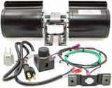 Heat & Glo 4-1/2 in. Fireplace Blower Fan Kit HGFK160A