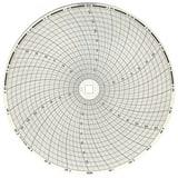 Graphic Controls LLC 11-7/8 in. Dia. No Range Chart Paper 100/BX G32007947
