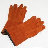 Bel-Art Products Clavies® Terry Cloth Heat Resistant Bio Hazard Oven Glove in Orange BH13201000 at Pollardwater
