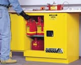 Justrite Sure-Grip® EX Manual Close Wall Mount Safety Cabinet J892300 at Pollardwater