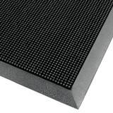 M+A Matting Flex Tip™ Black 36 x 72 in. Outdoor Scraper Mat A8743672 at Pollardwater
