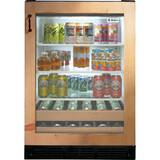 General Electric Appliances 23-3/4 in. 5.50 cf Beverage Center in Custom Panel GZDBI240HII