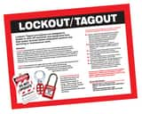 18X24 L/OUT/TAGOUT POSTER APST601 at Pollardwater