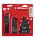 Milwaukee Assorted Blade Kit in Black M48901050